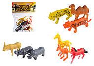 Игровой Набор диких животных, 12 животных, SC001, отзывы
