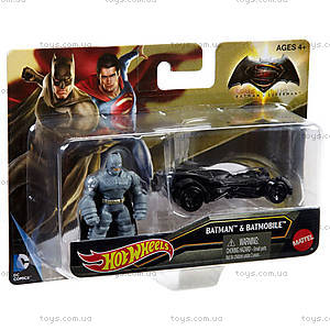 Фигурка-герой с транспортным средством из фильма «Бэтмен против Супермена», DJH27