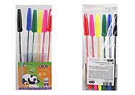 Набор из 6-х шариковых ручек Kids Line 6 цветов, ZB.2011, магазин игрушек
