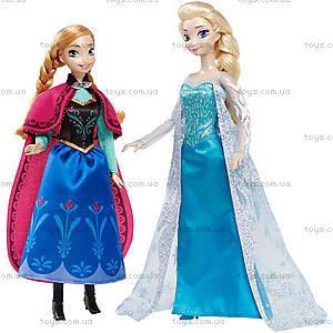 Набор коллекционных кукол «Анна и Эльза» из  м/ф «Холодное сердце», CKL63, отзывы