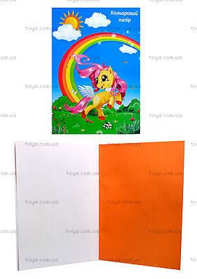 Набор цветной бумаги на скобе, КРИМ ПАК