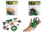Набор фигурок насекомых и животных, F8312, купить