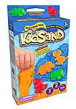 """Кинетический песок """"KidSand: Динозавры"""" с формочками, 200 г, 2 цвета, KS-05-08, цена"""