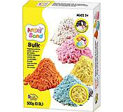 Цветной песок Angel Sand 0.9л, желтый, MA07012