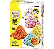 Цветной песок Angel Sand 0.9л, оранжевый, MA07013, игрушки