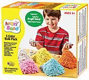 Комплект для игры с песком Angel Sand, 5 цветов, MA06011, фото