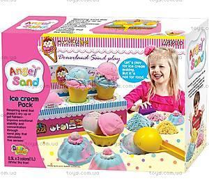 Комплект для игры с песком Angel Sand «Мастерская мороженого», MA05021