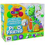 """Набор для лепки """"Pino Friend: Динозаврик Бард"""", 70036, фото"""