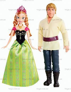 Набор кукол Анна та Кристоф из м/ф «Холодное сердце», BDK35, фото