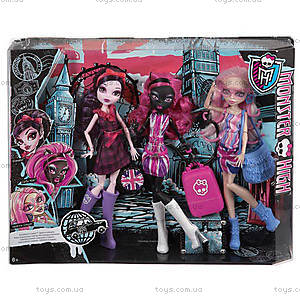 Набор кукол «Монстро-знаменитости в Лондуме» Monster High, CGF51