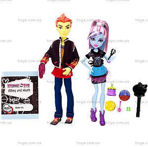 Набор кукол Monster High «Домашнее задание», BBC80, купить