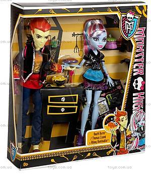 Набор кукол Monster High «Домашнее задание», BBC80, фото