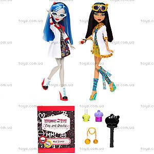 Набор кукол Monster High «Домашнее задание», BBC80, цена