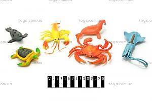 Набор морских животных, 6 штук, HY5-006A