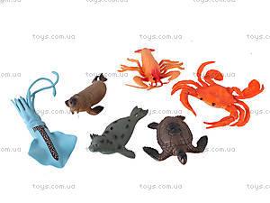 Набор морских животных, 6 штук, HY5-006A, фото