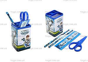 Набор настольный канцтоваров Kite серии Max Steel, MX14-214K