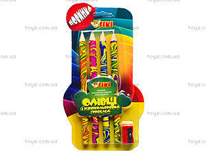 Набор карандашей с разноцветным грифелем, 51614-TK, купить