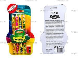 Набор карандашей с разноцветным грифелем, 51614-TK
