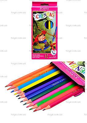 Набор карандашей Chenhao, 12 штук, 51616-TK158-12