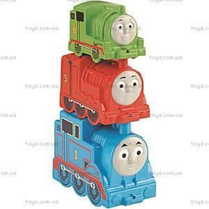 Набор паровозиков «Cкладывай и соединяй» из серии «Томас и друзья», CDN14, фото