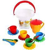 Набор посуды «Ромашка», 15 элементов, 39121