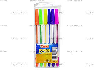 Набор ручек шариковых, 6 цветов, 52306-TK, купить