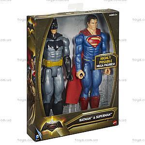 Набор коллекционных фигурок-героев из фильма «Бэтмен против Супермена», DLN32, купить