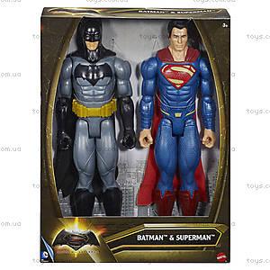 Набор коллекционных фигурок-героев из фильма «Бэтмен против Супермена», DLN32