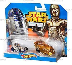 Набор машинок-героев серии Star Wars Hot Wheels, CGX02, фото