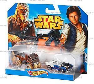 Набор машинок-героев серии Star Wars Hot Wheels, CGX02, отзывы