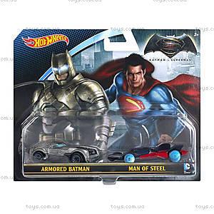 Набор из 2 машинок из фильма «Бэтмен против Супермена», DJP09