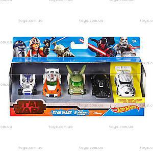 Набор машинок-героев серии Star Wars, CGX36, фото