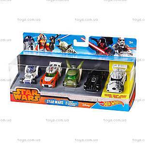 Набор машинок-героев серии Star Wars, CGX36