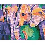 """Набор с алмазной мозаикой """"Индийские краски"""" 40 * 50см, АМ6126, фото"""