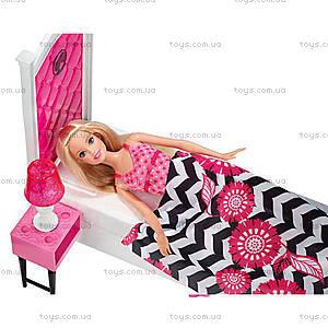 Набор с куклой Barbie «Роскошная спальня», CFB60, фото