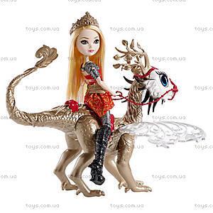 Набор с куклой «Эппл Уайт: Всадница» из м/ф «Игры драконов», DKM76, фото