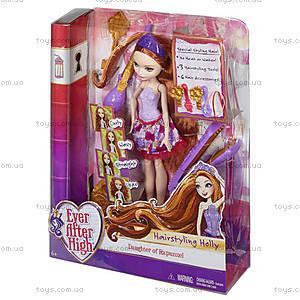 Набор с куклой Ever After High «Сказочные прически Холли», DNB75, купить