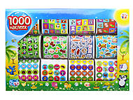 Детский набор наклеек «Животные», 1000 штук, 5919, отзывы