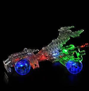 Светодиодный конструктор 12 в 1 «Автомобиль», 870b, фото