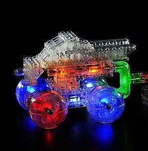 Светодиодный конструктор 12 в 1 «Автомобиль», 870b, цена