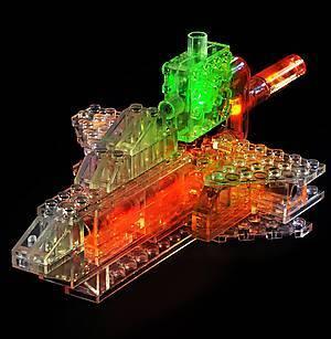 Светодиодный конструктор 12 в 1 «Автомобиль», 870b, игрушки
