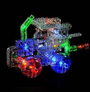 Светодиодный конструктор 12 в 1 «Автомобиль», 870b, магазин игрушек