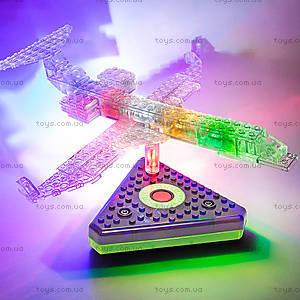 Светящийся конструктор 12 в 1 «Грузовой самолёт», 1670b, toys.com.ua