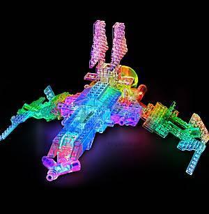 Светящийся конструктор 16 в 1 «Космический корабль», 9030b, фото