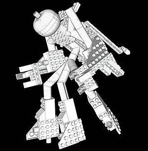 Светящийся конструктор 16 в 1 «Космический корабль», 9030b, детские игрушки