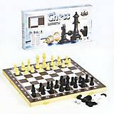 Набор 3 в 1 «Шахматы, Шашки, Нарды» большой, F22017, Украина