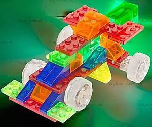Конструктор со светодиодами 4 в 1 «Автомобиль», 300b, цена