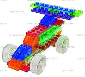 Конструктор со светодиодами 4 в 1 «Автомобиль», 300b, игрушки
