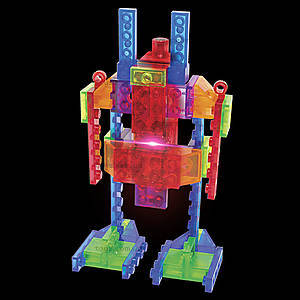 Светящийся конструктор 4 в 1 «Робот», 200b, отзывы