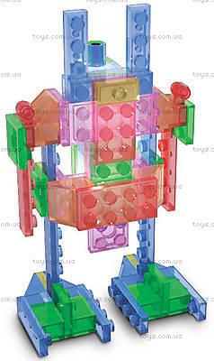 Светящийся конструктор 4 в 1 «Робот», 200b, цена